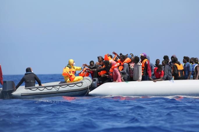 Migranter, medelhavet.