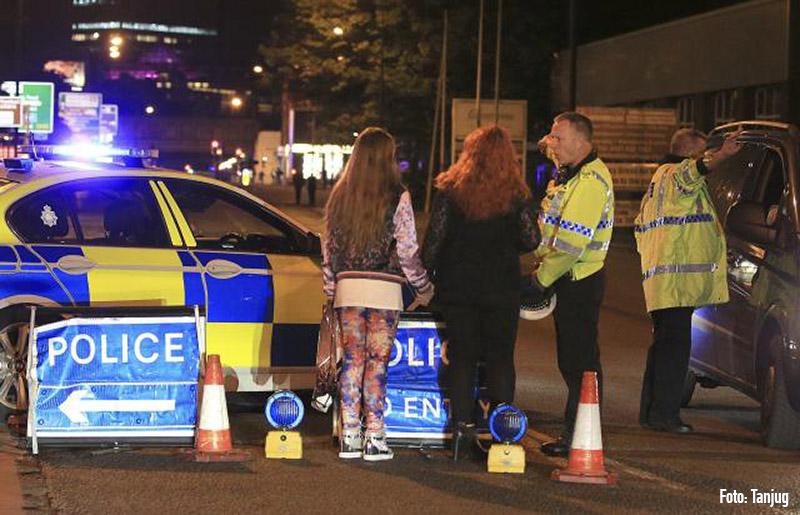 Terrorattack i Manchester, UK.
