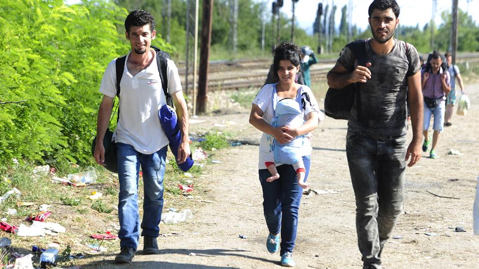 Illegala flyktingar i Europa